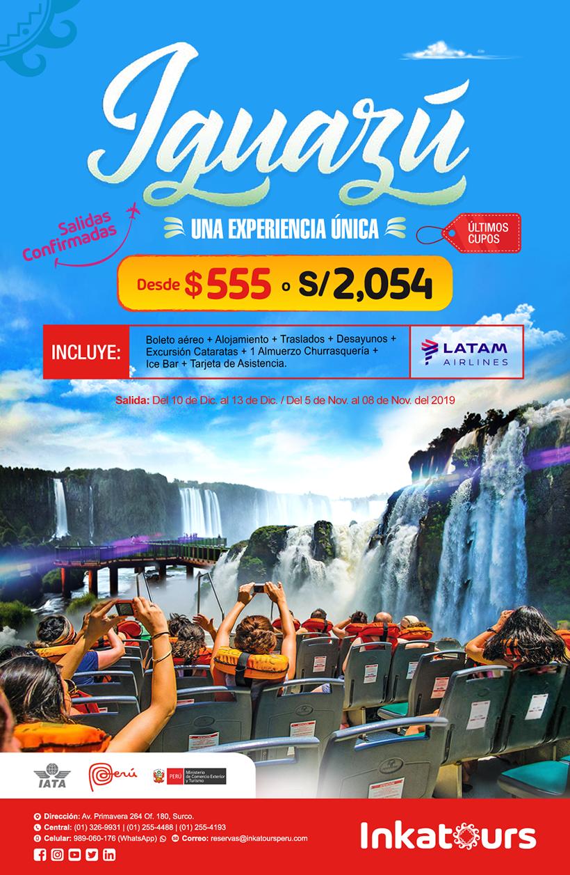 Viajes Iguazu Confirmados 2019
