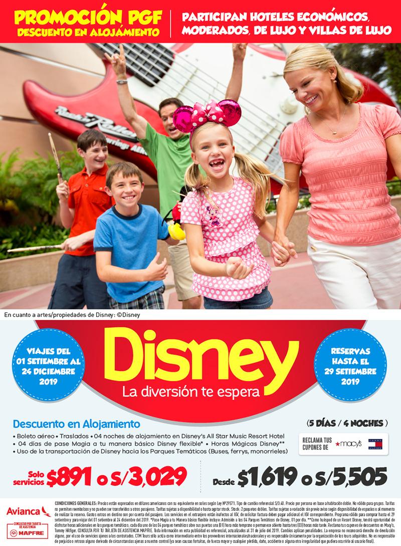 Disney Hoteles Economicos
