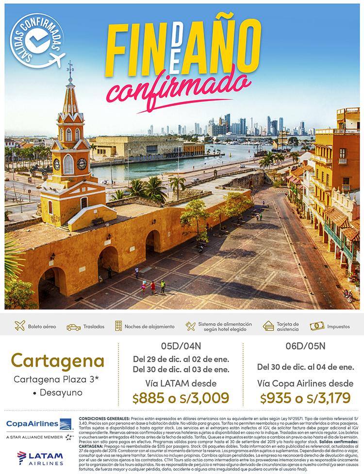 Cartagena Fin De Año 2019