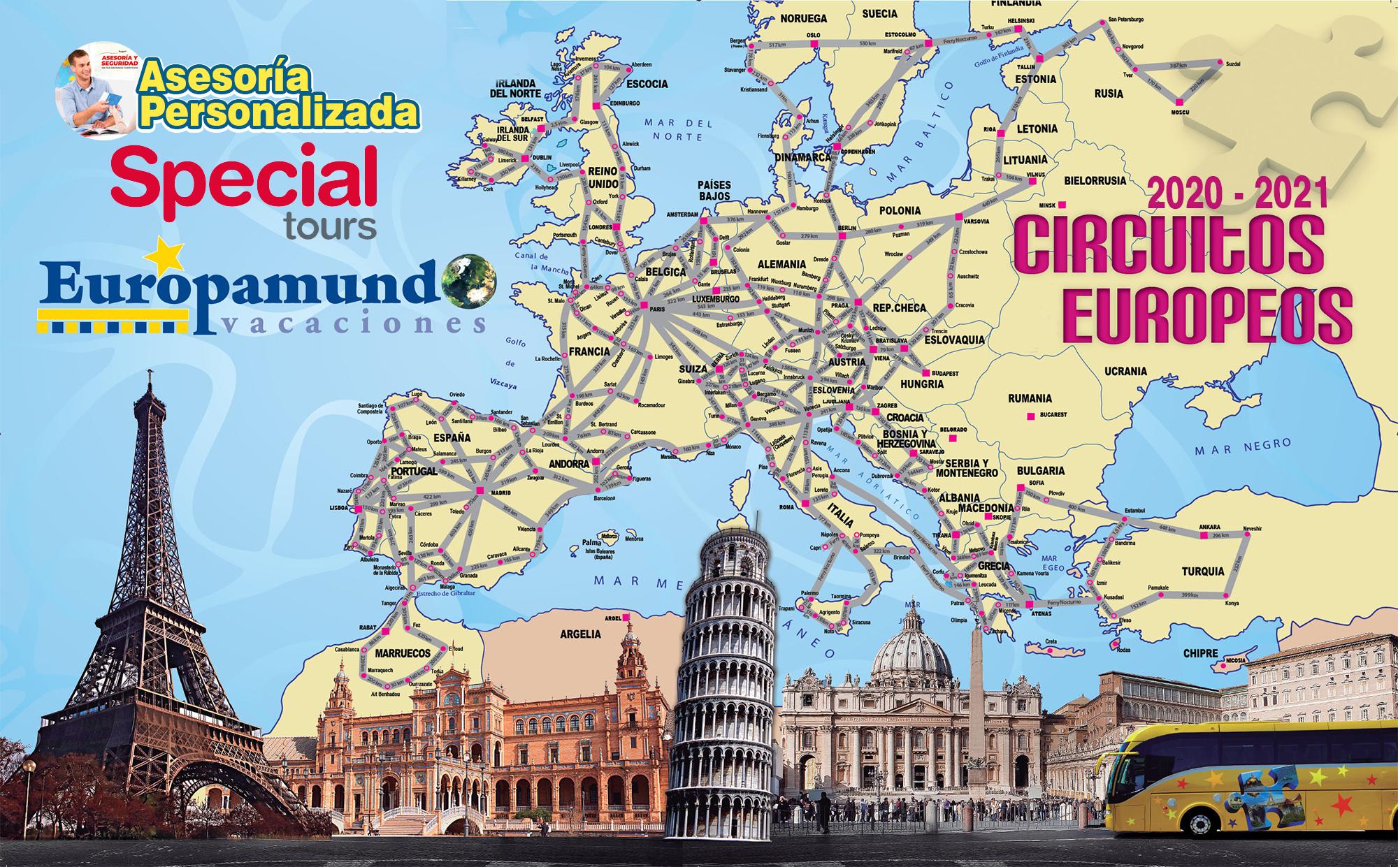 Circuitos en Europa