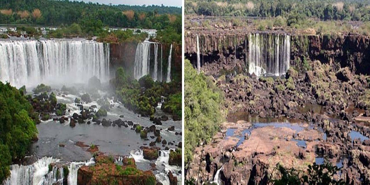 Cataratas del Iguazú sin turistas por el coronavirus